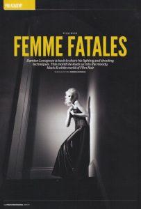femme fatales feature magazine
