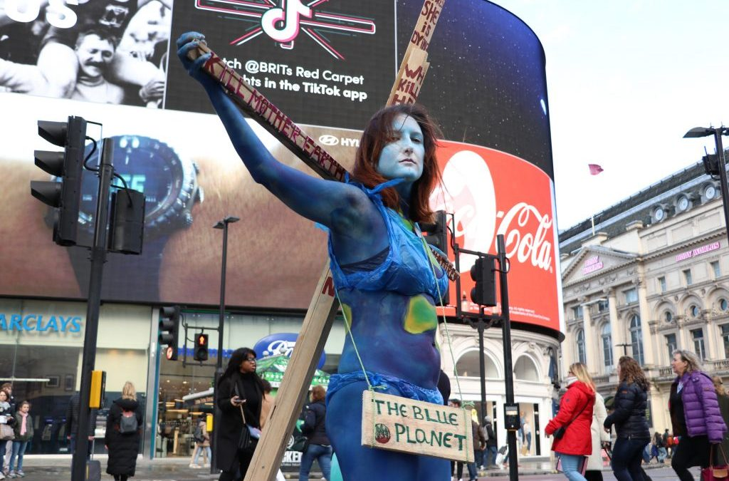 Save Our Planet – Mother Earth Body Paint