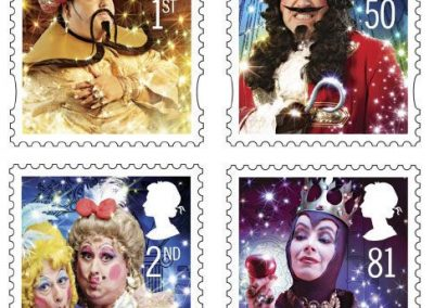 Royal Mail stamps-pete thorpe commercial makeup and hair