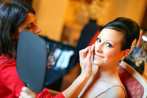 Vintage 1920's Special occasion makeup