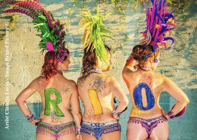 Rio body art