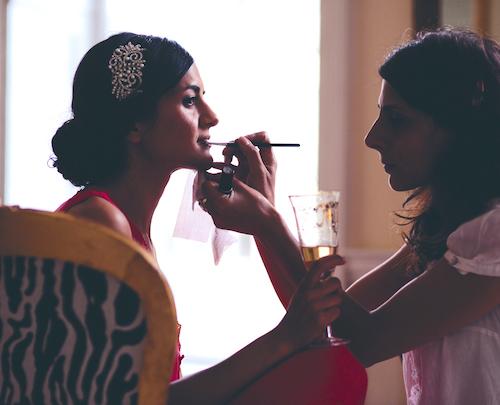 About claudi lucia wedding makeup