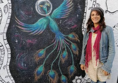 Cosmic-Chick-outdoor-mural-Aesop-Cafe