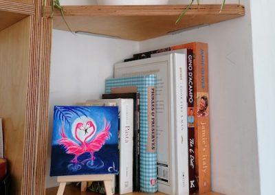 Under The Moon of Love - Flaming flamingo in situ