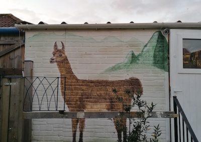Llama Lover Mural