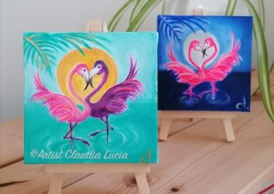 Flaming Flamingos collection -£28