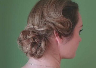 Bridesmaid - 1920's style hair