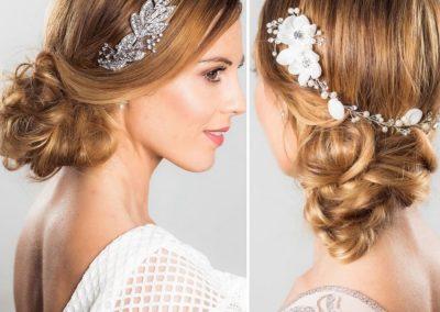 Bride hair up dos