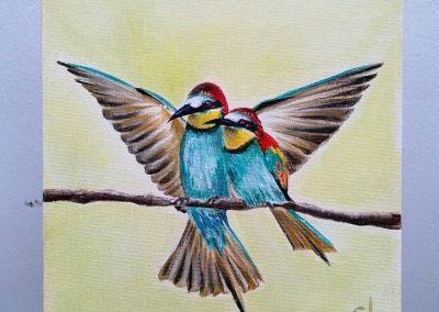 'New Beginnings' Bea-eaters