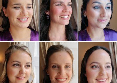 natural makeup bridesmaids